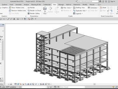 Structural 3D Modeling (Revit)