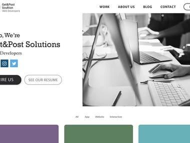 Tech Firm Website Development