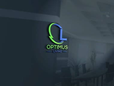 OPTIMUS LIVING LOGO