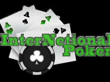 Internetional Poker Logo Set