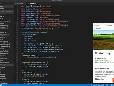 React Native Hiring App Development