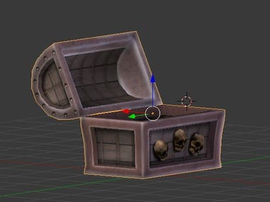 Chest for game