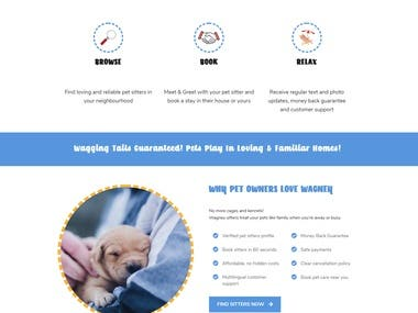 Wagney.com Pet Sitting Marketplace