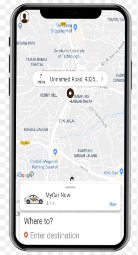 Taxi Car App