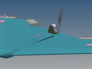 Wing Aircraft - Concept. R.C.