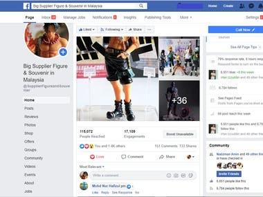 Sales Marketing ( FB Ads )