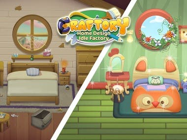 Craftory - Home Design Idle Factory