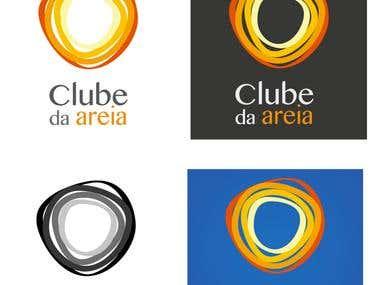Logo Design: Clube da Areia