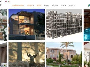 Drupal 8 website