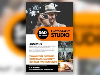 Flyer for Photoghaphy Business