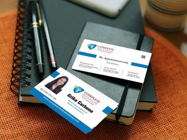 Business Card for Complete Medical Wellness Employee
