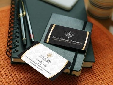 Business Card for Ritu Events Planning