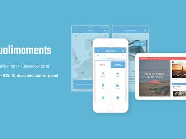 Qualimoments mobile app
