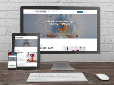 Website for NJ Premier Heart