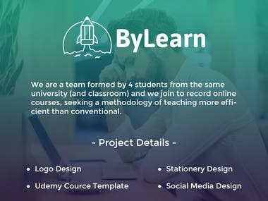 """Brand Identity for """"By Learn"""""""