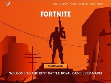 Fortnite Website