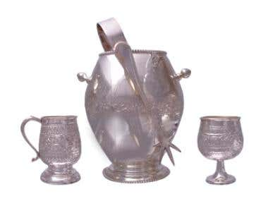Catalog Photography - Silver Barware