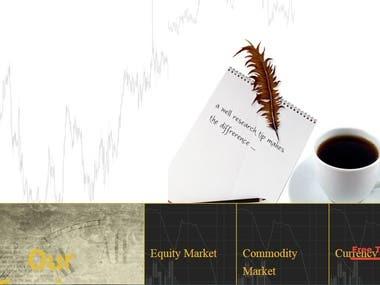 Stock Market Website