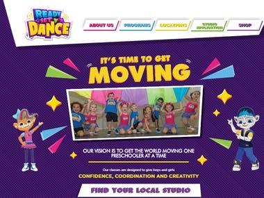 Preschool Dance Website