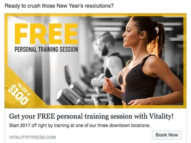 Facebook Ad Copy For Vitality
