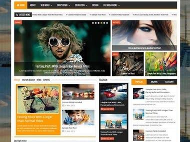 Blog Development and Design