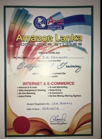 internet job certifed