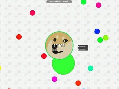 OnLine Germs Game(Node JS and WebSokcet)