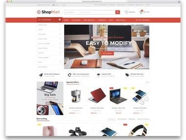 E-commerce and Woo-commerce web development