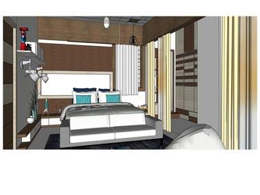 Architectural Interior - Bedroom - 03
