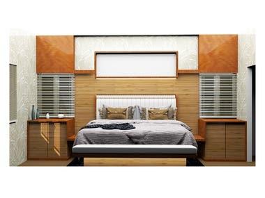 Architectural Interior - Bedroom - 05