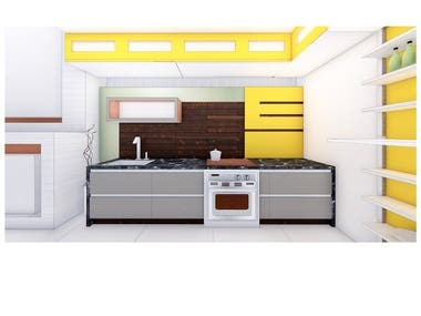 Architectural Interior - Kitchen - 03