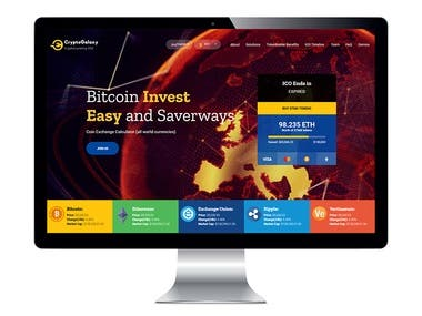 Crypto currency website
