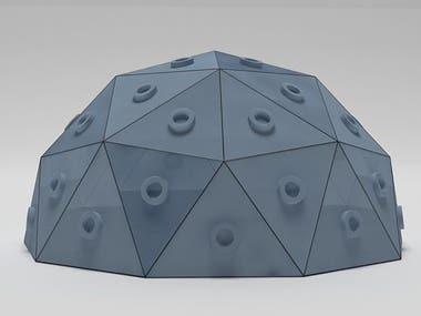 Mini Satellite Cover Design