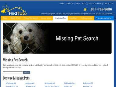 FindToto - Lost & Found Pet Alert Service