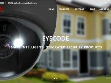 Product Information Website