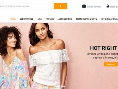 Online Shopping Portal    eCommerce Website