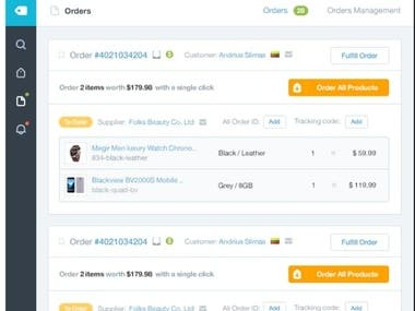 Order Fulfillment Oberlo
