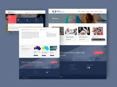 ORION EDUCATION AND MIGRATION SERVICES WORDPRESS WEBSITE