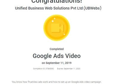 Google Ads Video