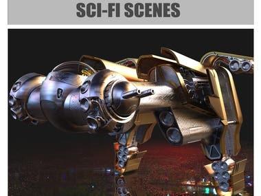 SCI-FI Scenes