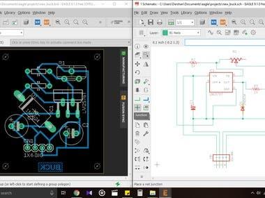 Buck converter PCB design