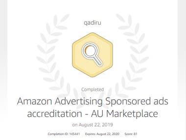 Amazon Store Optimization