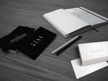 Logo design and brochure