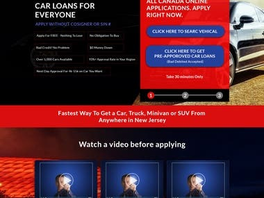 Car Sale and Purchase Agency Website Mockup