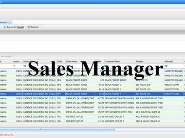 Sales Manager Project