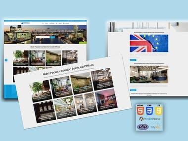 WordPress Website For Office Search in London