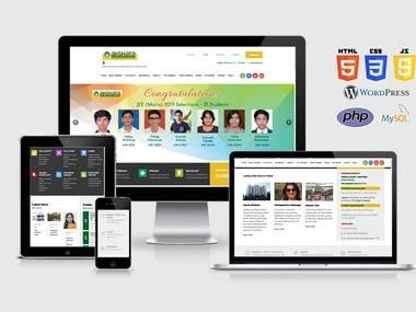 WordPress Education Institution Website