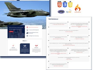 A software compliance and regulatory company website