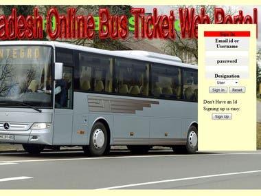 Online Bus ticket Management system