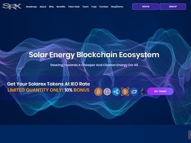 Solarex MVP Design And Develop Hyperledger Fabric